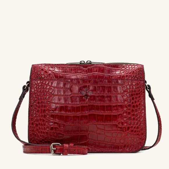Patricia Nash Handbags - Patricia Nash Nazaire top zip NWT red